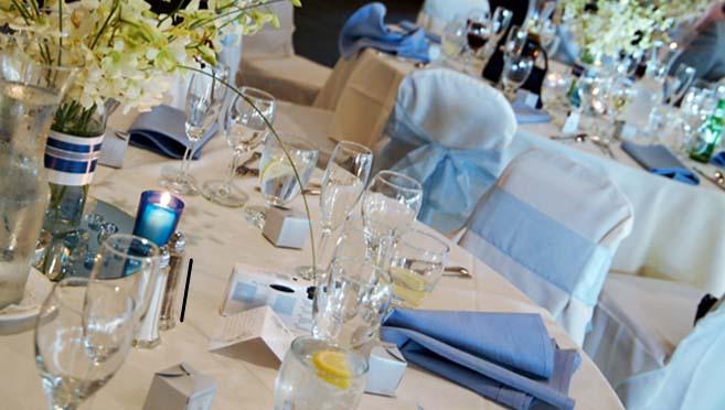 Hotels San Diego - Mission Valley Resort-Wedding Tables