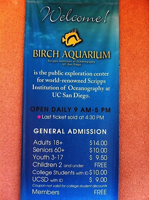 Aquarium  - Hour - Tickets