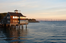 Seaport Village Beautiful Sunset