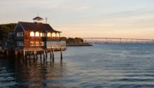 Seaport Village Beautiful Sunset