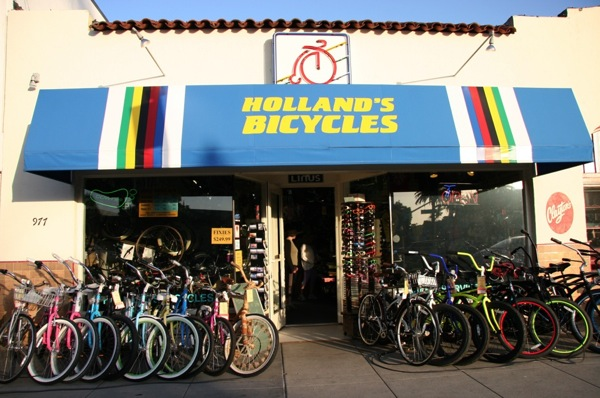 Hollands Bicycles Front Store