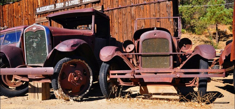 Horseless Carriage Corral in Julian by Patrick A Smith All Rights Reserved 2014