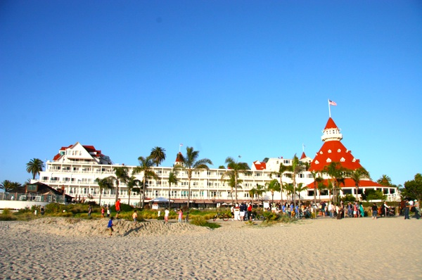 Hotel del Coronado Photo taken April 2014 from the Beach - all rights reserved