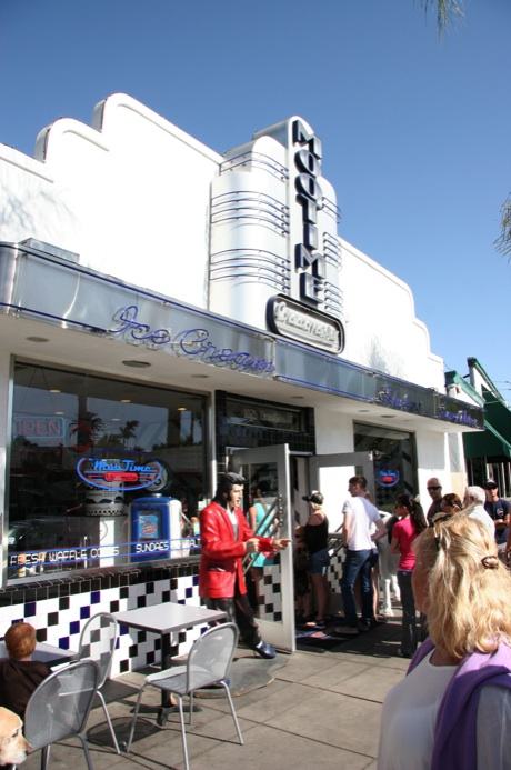 MooTime Creamery front store with people waiting 2014 all rights reserved