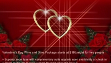 Flyer Romantic Valentine's Day Getaway at MVR