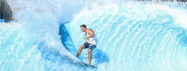 The Flow Rider at Belmont Park in Spring
