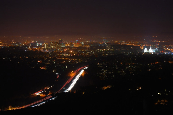 View from Mt. Soledad at Night 2015