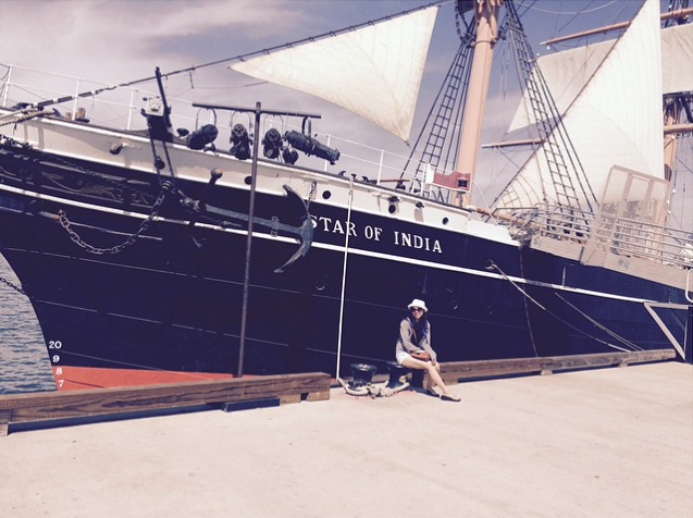 Star of India San Diego - Credit to chelsea so ‏@cheeellss43